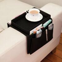 Sofa Couch Arm Chair Rest 6 Pocket Remote Control Organizer Storage Holder