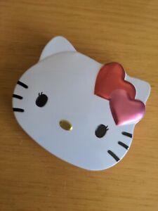 Hello Kitty Cat Face Shaped Storage Tin - Avon Jewellery Make Up😺