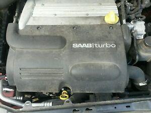 Saab 93 9-3 2003-2011 4 cylinder  engine cover plastic  convertible wagon sedan