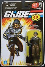 Gi joe 25th Series White Logo Major Bludd 3 3/4 Action Figure Package