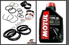 Honda VFR400R NC30 Front Fork Bushes Fork Seals & Dust Seal & Fork Oil