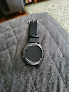 Original Samsung Galaxy Gear S3 Frontier SM-R765V Bluetooth Smart Watch Black 3