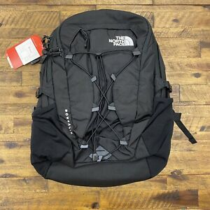 The North Face Borealis Black Backpack Daypack 27L Men's Women's