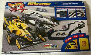 TYCO - MATTEL - HOT WHEELS - Formula Super Sound Racing Set