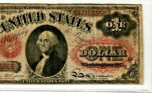 "$1 ""LEGAL TENDER"" 1869 (WASHINGTON) $1 ""LEGAL TENDER"" 1869 (WASHINGTON) RARE !!!"