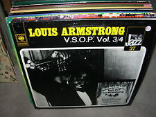 LOUIS ARMSTRONG v.s.o.p./ vsop vol. 3 & 4 ( jazz ) - 2lp - holland -
