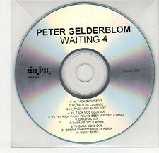 (EG300) Peter Gelderblom, Waiting 4 - DJ CD