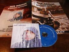 JACK JOHNSON BRUSHFIRE!!!!!!!FRENCH FRESS/PACK + PRO CD
