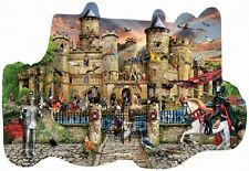 Jigsaw puzzle Medieval Scottish Castle Stronghold 1000 piece freeform NEW USA