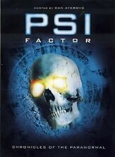 PSI  FACTOR SEASON 4 CHRONICLES OF THE PARANORMAL DVD BOXSET  BRAND NEW SEALED