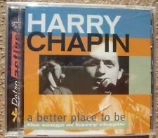 A Better Place To Be - The Songs of Harry Chapin CD - New Sealed