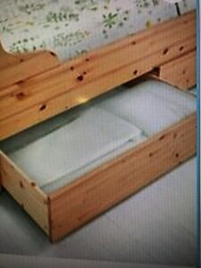 BRAND NEW IKEA Hurdal 2 Drawers Queen/King Size underbed storage STILL IN BOX
