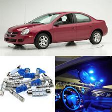 For 2003-2005 Dodge Neon SRT4 Premium Blue LED Interior Lights Kit 7 Pieces