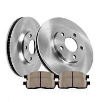 Front Drill Slot Brake Rotors And Ceramic Pads For BMW 540i 740i 740iL E38 E39