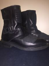 Vtg Honda Motorcycle Biker Cruiser Riding Black Leather Soft Toe Boots Size 12 D