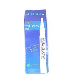 AuraGlow Teeth Whitening Pen W 35% Carbamide Peroxide 15+ Whitening Treatments.