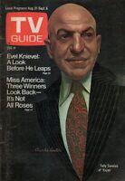 1974 TV Guide August 31 - Telly Savalas - Kojal; Evel Knievel; Maureen Reagan