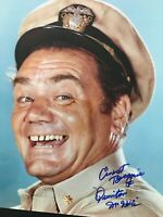 Signed ERNEST BORGNINE 11x14 Photo not PSA Beckett Autograph COA