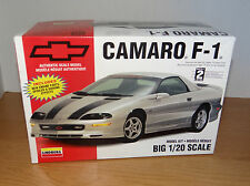 Big 1/20 Scale  Lindberg Chevrolet Camaro F-1 plastic model kit Chevy F1