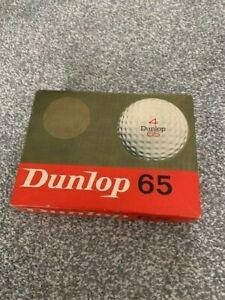 Dunlop 65 Vintage Golf Balls x 12 Boxed.+ 3 extra