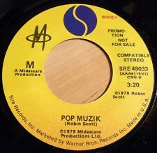 M (Robin Scott) 45 Pop Muzik  PROMO  7-inch vinyl  NM