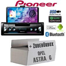 Pioneer radio para Opel Astra G Bluetooth Spotify android iphone kit de integracion turismos