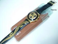 "Swatch: Irony-Chrono Midi "" Golden Flame "" Spiga Luxury Collection (YMG101PU)"