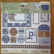 My Mind's Eye Dee's Designs Colorful Moods Kit - Playful