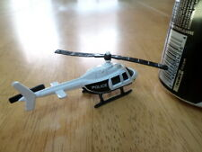 POLICE DEPARTMENT HELICOPTER, DIE CAST METAL TOY, Scale: 1/100, VINTAGE
