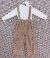 CLASS CLUB boy 3T Holiday PANTS OVERALLS SUSPENDER CORDUROY OUTFIT Easter NWT