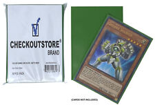5000 CheckOutStore Matte Green Protective Sleeves Yu-Gi-Oh, Cardfight CFVG