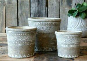 Vintage Ethnic Style Flower Plant Pot Decorative Succulent Herb Cactus Planters