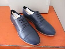 Kate Spade Saturday - Leather Oxfords - Size 8 - Ink Blue - NEW