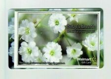 Walmart Gift Card - w Seed Packet Baby's Breath - Older - No Value - I Combine