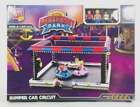 NEW Block Tech Amusement Park Friends Bumper Cars Circuit Brand Compatible 451pc