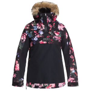 Roxy Womens Shelter Snowboard/Ski/Schnee Jacke - Blooming Party