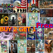 5D Full Drill Diamond Painting US Flag Craft Embroidery DIY Home Decor Gift