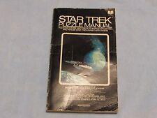 Star Trek Puzzle Manual - Used 1976