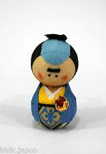 起き上がり小法師 Okiagari Koboshi - Figurine papier maché SAMOURAI - Made in Japan K2099