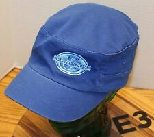 BREWHOUSE PUB & GRILLE HELENA MONTANA CADET/MILITARY STYLE HAT BLUE M/L VGC E3