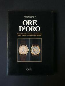 Negretti-Nencini ORE D'ORO orologi da polso Wrist 1^ ediz 1984 italiano+inglese