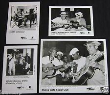 BUENA VISTA SOCIAL CLUB—FOUR 1997 PUBLICITY PHOTOS