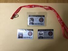 Tokyo Ghoul:re CCG ID Pass & Case/Haise.Sasaki/Juzo Suzuya/Kisho Arima/New/
