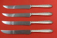 Silver Flutes by Towle Sterling Silver Steak Knife Set 4pc Texas Sized Custom