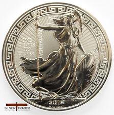2018 1oz Silver Britannia Oriental Border 1 ounce Silver Bullion Coin unc: