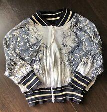 Jean Paul Gaultier Maille Classique Paris Babies Bomber Jacket Vintage Ss 98