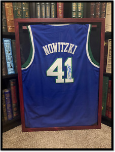 Dallas Mavericks Jersey ✎SIGNED🏀 by DIRK NOWITZKI New JSA COA XL NBA Legend