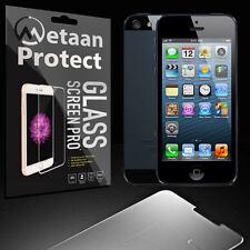 2X iPhone SE 5 5S Schutzglaß Schutzfolie Panzerglas Echt Glas Schutz Folie