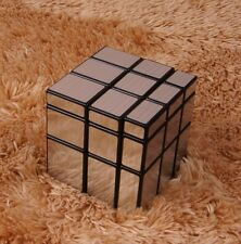 Magic Puzzle Speed Cube Block Twist 3X3X3 Silver Mirror Smooth magico Toy Gifts