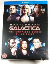 BATTLESTAR GALACTICA THE COMPLETE SERIES Flawed 20-Disc BLU-RAY Set Region-Free